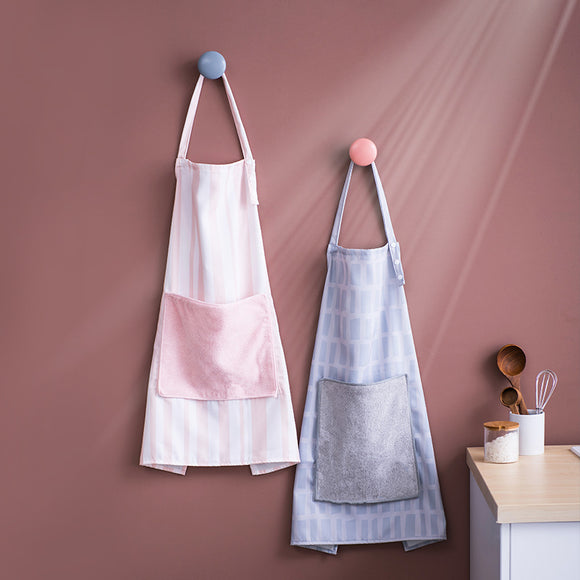 XIAOMI Household Cotton Kitchen Apron with Duster Cloth for Baking, BBQ,