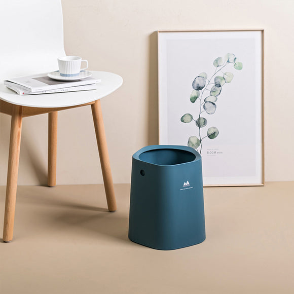Nordic Style Waste Container Creative Trash Can With Bag storage