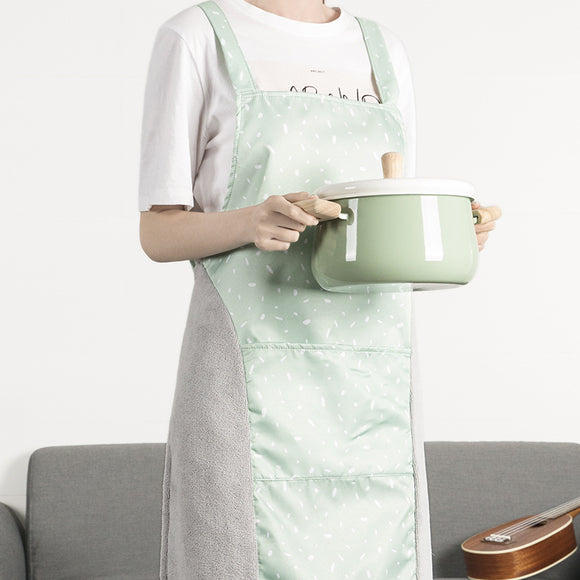 XIAOMI Home waterproof oilproof hand wipe apron
