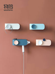 XIAOMI Wall-Mounted Bathroom Storage Organizer Rack Hair Dryer Holder