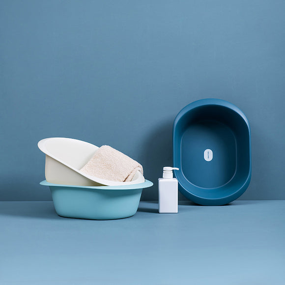 XIAOMI Plastic Bathroom Washing Bowl Small Size Cloth Washing Basin