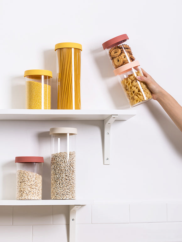 XIAOMI Nordic High Borosilicate Grain & Noodle Storage Jar Set