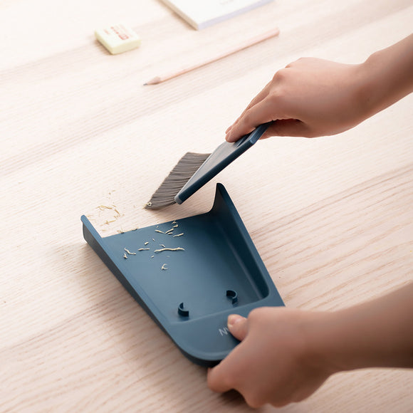 XIAOMI Desktop Mini Cleaning Broom and dustpan set with Brushes
