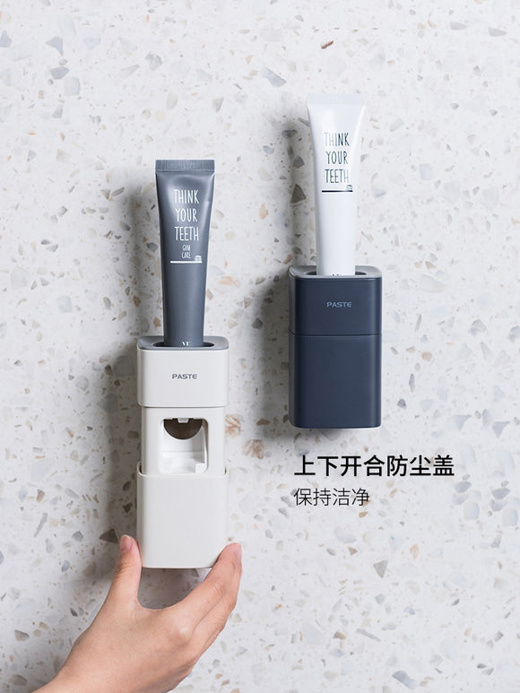 XIAOMI Wall Mounted Toothpaste Squeezer Toothpaste Dispenser Automatic Hands Free for Family Shower Bathroom