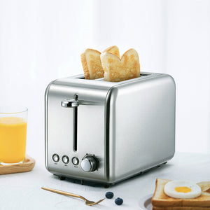 XIAOMI - Deerma  2 Slice Toaster in Stainless Steel (DEM-SL281)