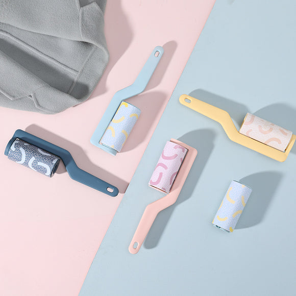 XIAOMI Tear-out Sticky Paper Roller Dust Cleaner Mini Clothes sticky hair Portable Cleaning Device Clothes Coat Sticky Lint Roller