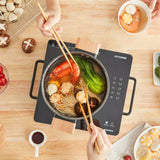 XIAOMI - QCOOKER CR-DT01 Induction Cooker Smart electric oven Kitchen cooktop Hot Pot Precise Control cookers hob