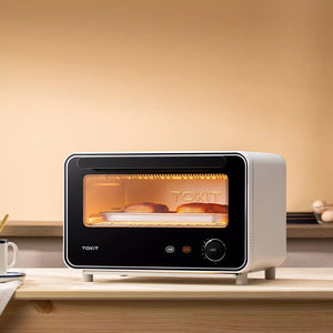 XIAOMI - TOKIT Mini Smart Electric Oven 12L Convection Baking Oven Hot Air Fermentation Mini Oven Automatic Oven Bakery
