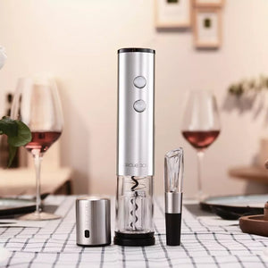 XIAOMI - Circle Joy Wine Accessories Gift Set Opener Decanter Stopper Cutter 4in1 CJ-TZ02
