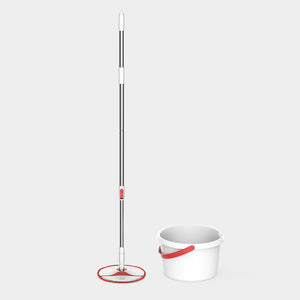 XIAOMI - Yijie 4PCS Rotating Mop Sets Bendable & Design Handheld Floor Mopping Waterwheel Cleaning System
