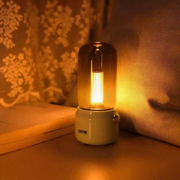 Xiaomi Vintage Night Light LOFREE LED Desk Lamp With Soft Ambient Lighting USB Charging Ports