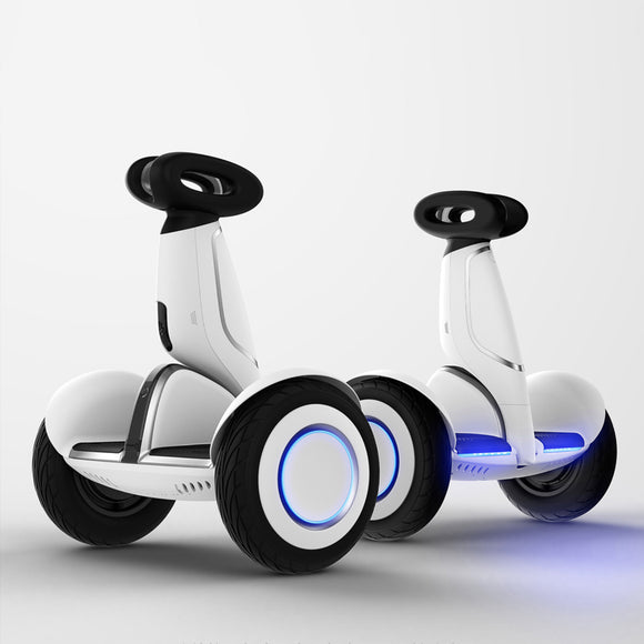 XIAOMI - Segway Ninebot S-Plus Smart Self-Balancing Electric Scooter with Intelligent Lighting and Battery System, Remote Control and Auto-Following Mode