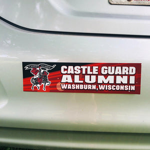 Washburn Castle Guard Alumni Bumper Sticker