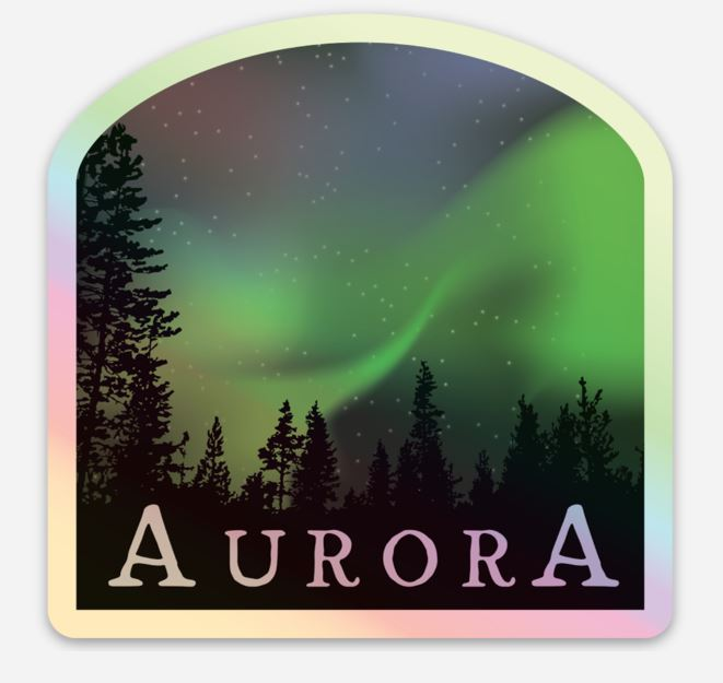 Aurora Sticker