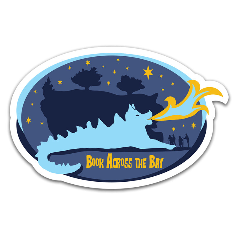 Book Across the Bay Sticker