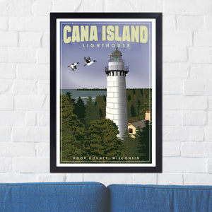 Cana Island Lighthouse Door County