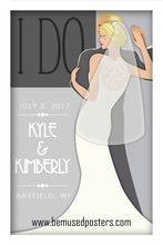 Load image into Gallery viewer, Custom Wedding Poster - The Dance