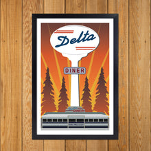 Load image into Gallery viewer, Delta Diner Sign