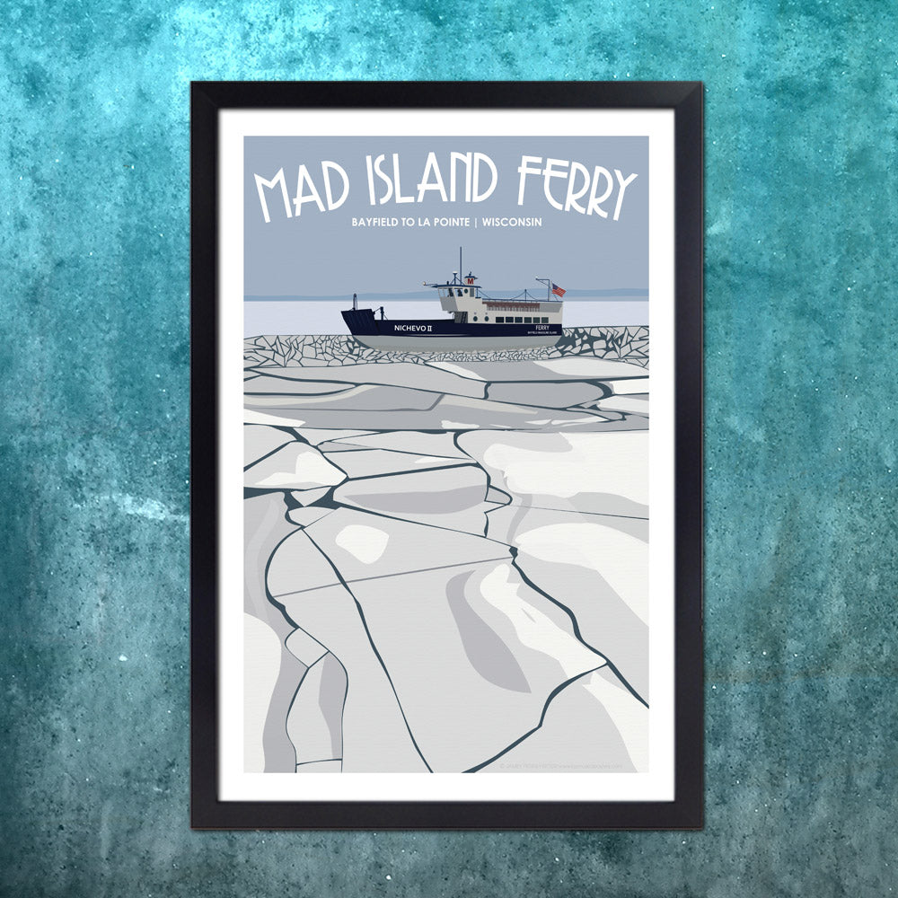 Madeline Island Winter Ferry