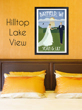 Load image into Gallery viewer, Custom Wedding Poster - Along the Shore
