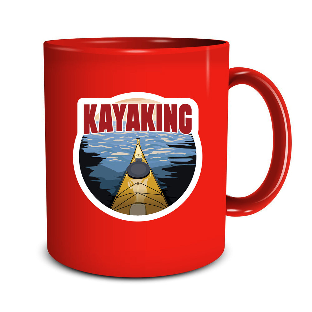 Kayaking Sticker