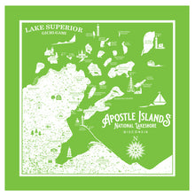 Load image into Gallery viewer, Apostle Island Bandanna
