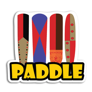 Paddle Sticker