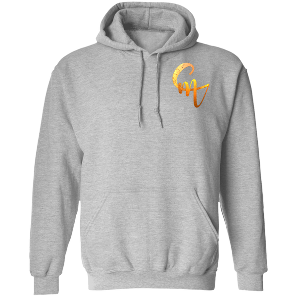 CM Front and Back Logo Pullover Hoodie 8 oz.