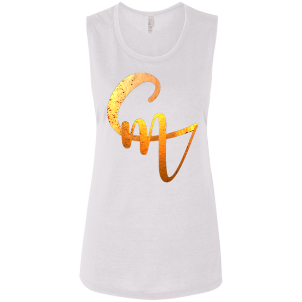 CM Logo Ladies' Flowy Muscle Tank