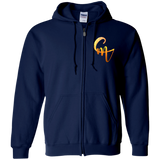 CM Logo Zip Up Hooded Sweatshirt