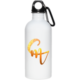 CM Logo 20 oz. Stainless Steel Water Bottle