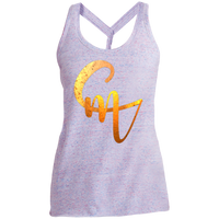 CM Logo Ladies' Cosmic Twist Back Tank