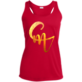 CM Logo Ladies' Racerback Moisture Wicking Tank