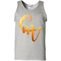 CM Logo 100% Cotton Unisex Tank Top