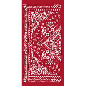 Bandana Traditional Red Neck Gaiter - SoulSkinz