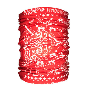 Bandana Traditional Red Neck Gaiter