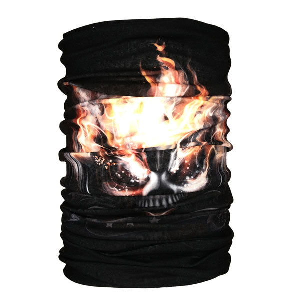 Skull Face Neck Gaiter