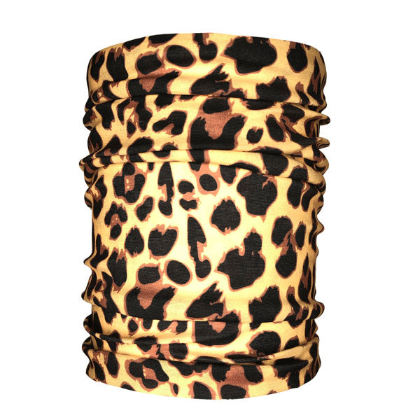 Cheetah Tan Neck Gaiter