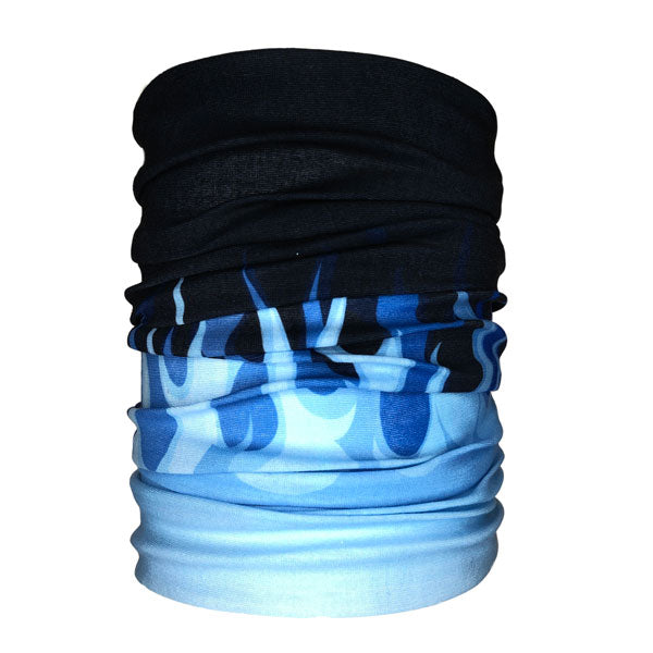 Blue Flames Neck Gaiter