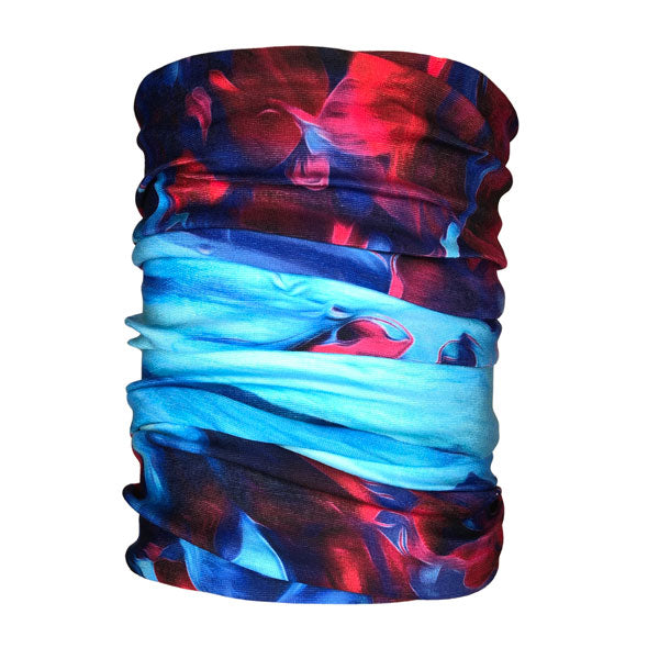 Electric Watercolor Neck Gaiter