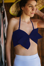 Load image into Gallery viewer, Navy Swimsuit Top Arda