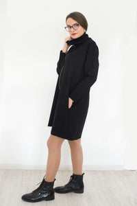 Oversized Sweatshirt Dress Mia