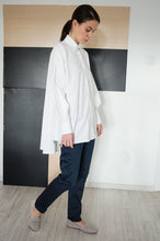 Load image into Gallery viewer, Shirt Origami Dina White