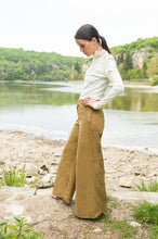 Load image into Gallery viewer, Beige Palazzo Pants Eleanor