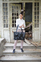 Load image into Gallery viewer, Black Designer Purse Ambrosio