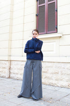 Load image into Gallery viewer, Gray Wool Pants Alena