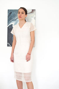Feminine Lace Dress Amaya