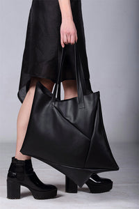 Designer Shopping Bag Geometric