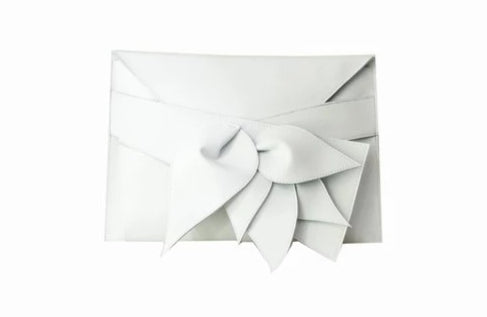 White Clutch Bag Folium