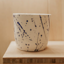 Load image into Gallery viewer, OG Splatter Coffee Cup - Blue